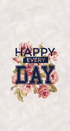 Imagem de happy, wallpaper, and flowers