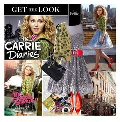 """""""Back To The 80s With The Carrie Diaries !"""" by anitadanako ❤ liked on Polyvore featuring Opening Ceremony, Sergio Rossi, Stuart Weitzman and Calla"""
