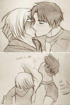 #yurio #jj #yurionice #boylove #shounenai #kiss
