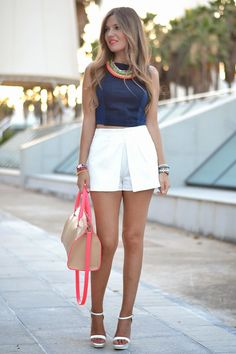 DENIM TOP CROP | Mi aventura con la moda