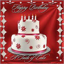 Resultado de imagen para Happy Birthday Cake