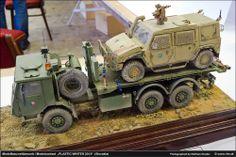 Transport Truck Model.