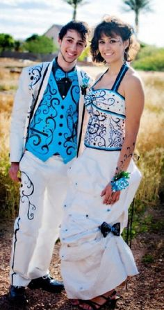scholarships duct tape dress prom