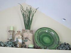 Plant ledge decor, without the ugly plants
