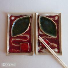 sushi dla 2 - Wnętrze - Ceramika - Grupart.pl Money Clip, Sushi, Money Clips, Sushi Rolls