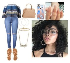 """""""Untitled #535"""" by queen-ayanna on Polyvore featuring Aéropostale, MICHAEL Michael Kors, Forever 21, Hoorsenbuhs and Casetify"""