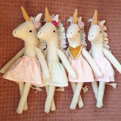 Unicorn dolls                                                                                                                                                     More