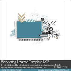 Wandering Layered Template No. 02