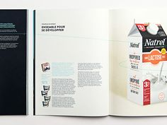 Agropur | 2014 Annual Report | lg2boutique on Editorial Design Served