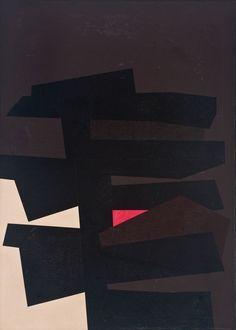 Karl Benjamin, BB #8, 1962. Oil on canvas