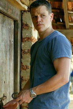 Matt Damon as David Webb known as Jason Bourne.