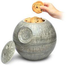 Será que o Darth Vader iria curtir esse pote de biscoitos?