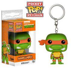 Pocket Pop! Keychain: TMNT - Michelangelo   Funko