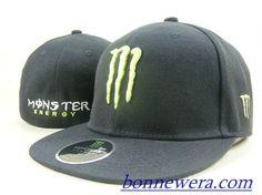 Acheter Pas Cher Casquettes Monster Energy Fitted 0083 En ligne - BONNEWERA.COM