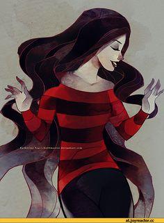 Marceline (Марселин - Королева Вампиров, Марселин) :: adventure time art :: adventure time (время приключений) :: Марселин :: deviantart :: Mochafish / смешные картинки и другие приколы: комиксы, гиф анимация, видео, лучший интеллектуальный юмор.