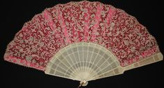 Often ladies would carry hand fans with them, especially if they were outdoors…