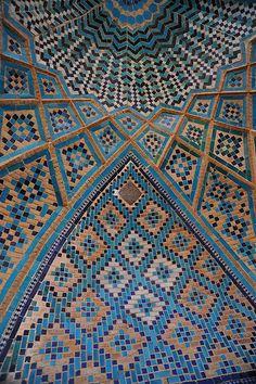 Amazing tile work.