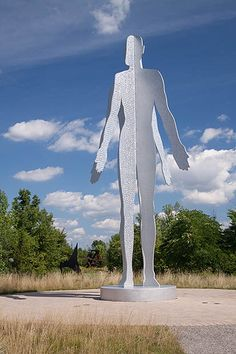photo of the sculpture entitled - Male/Female -          in Frederk Meijer Gardens in Grand Rapids, MI