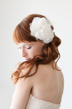 Morning Blossom  Bridal Hair piece