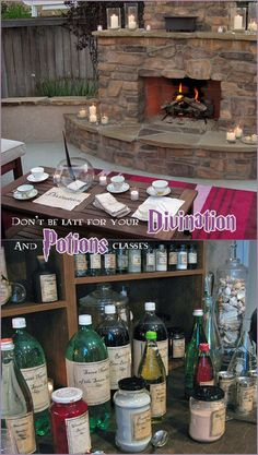 harry potter party drinks potions