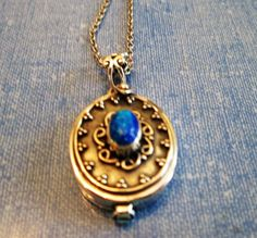 Hey, I found this really awesome Etsy listing at https://www.etsy.com/listing/463454348/necklace-blue-fire-opal-poison-ornate