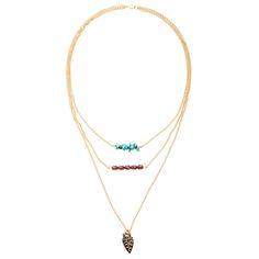 Tutorial - How to: Tribal Trio Necklace | Beadaholique