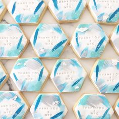 These hexagon shaped cookies by @blondebakingmama are so pretty! Kate is our Perth Meetup presenter on Sunday 15th October. Just $25! Book at www.acdn.me/events under 'member meetup'