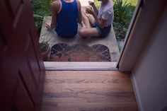 front porch time