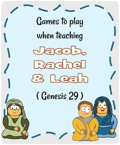 Jacob's wives Bible lesson