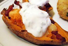 Gevulde zoete aardappel - Nombelina.com