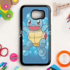 Squirtle Pokemon Samsung Galaxy S6 Edge Case | armeyla.com
