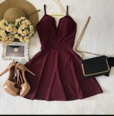 Pin by peran helen on clothes in 2019 vestidos, vestidos cor Hoco Dresses, Dance Dresses, Pretty Dresses, Homecoming Dresses, Beautiful Dresses, Dress Outfits, Cute Casual Outfits, Casual Dresses, Teen Fashion Outfits