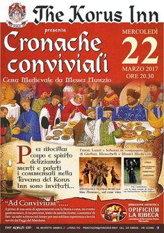 Italia Medievale: Cronache Conviviali. Cena medievale da Messer Nunzio