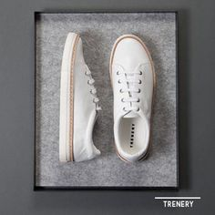 Crisp white shoes from Fitness Fashion, Women's Fashion, Fashion Outfits, Cute Workout Outfits, White Shoes, Spring Summer Fashion, Crisp, Converse, Dress Up