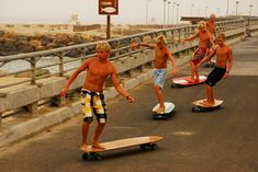 Hamboards combines skateboard and surfing | Sport | Gear