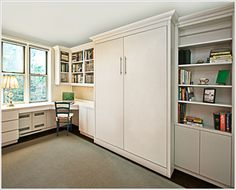 murphy beds allow you to use a room to its full potential until and extra bed is needed