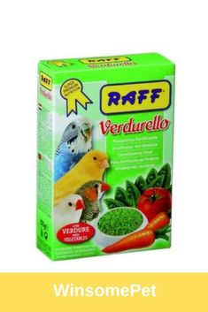 RAFF Verdurello - food supplement to accompany the daily diet for granivorous cage birds. Dehydrated Vegetables, Conure, Bird Food, Cage, Dog Food Recipes, Cereal, Birds, Diet, Carrot