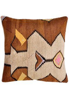 "16"" Kilim Pillow, Pastel Relic"
