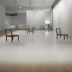 One of the most striking furniture/design exhibits I've seen: Ghost Stories: New Designs from Nendo at MAD.