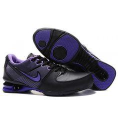 f6796f2cf81fa 278563-023 Nike Shox R2 Black Purple J08010 Nike Shox For Women