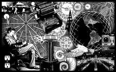 science electricity nikola tesla 1440x900 wallpaper