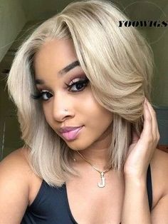 Shop our online store for blonde hair wigs for women.Blonde Wigs Lace Frontal Hair Blonde Beard Dye From Our Wigs Shops,Buy The Wig Now With Big Discount. Black Ponytail Hairstyles, Frontal Hairstyles, Wig Hairstyles, Blonde Hair Black Girls, Ash Blonde Hair, Short Blonde, Beach Blonde, Dark Blonde, Blonde Human Hair Wigs