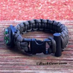 RuckGear's MAG10 Tactical Paracord Bracelet Features: -High Quality 550 Type III Paracord Made in USA -Liquid Filled Compass -Fire Rod http://www.ruckgear.com/mag10-paracord-bracelet
