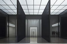 dromik:  Robert Irwin, Double Blind, Installation view, Secession 2013.