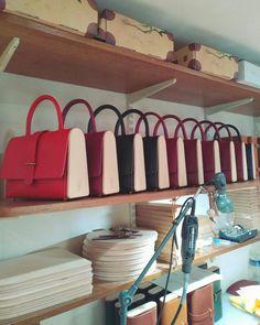 Sac à main en bois et cuir , cousue à la main, Damien Béal www.damienbeal.fr La Ninetta