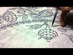 Brave Brush - Haliç - Çini Tahrirleme 14 - YouTube Brave, Islamic Art, Tangled, Colored Pencils, Pencil Drawings, Youtube, Artist, Pattern, Handmade