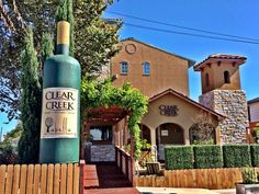 Clear Creek Winery in Kemah, Texas is a fun place to visit with good wine!