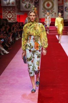 Dolce & Gabbana primavera estate 2018