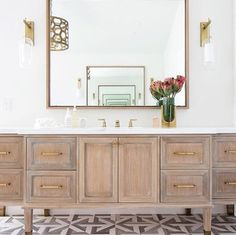 Talya Collection is a beautiful, lyrical mix of water jet designs that are at home in the bath, kitchen or grand entry. The Talya Collection is a refined study of designs using marble and stone, intertwining into lacework and modern geometries. #decorativefloors #decorativetile #bathroomfoor #bathroomideas #bathvanities