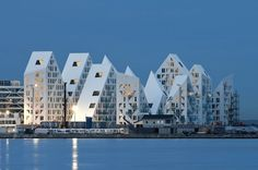 A Spectacular Waterfront Apartment Building That Looks Like A Giant Iceberg - DesignTAXI.com #architecture ☮k☮